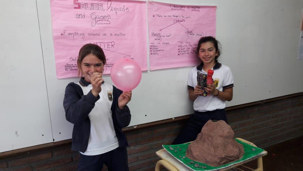 11 Proyecto Ciencias Naturales en Inglés - 6° grado