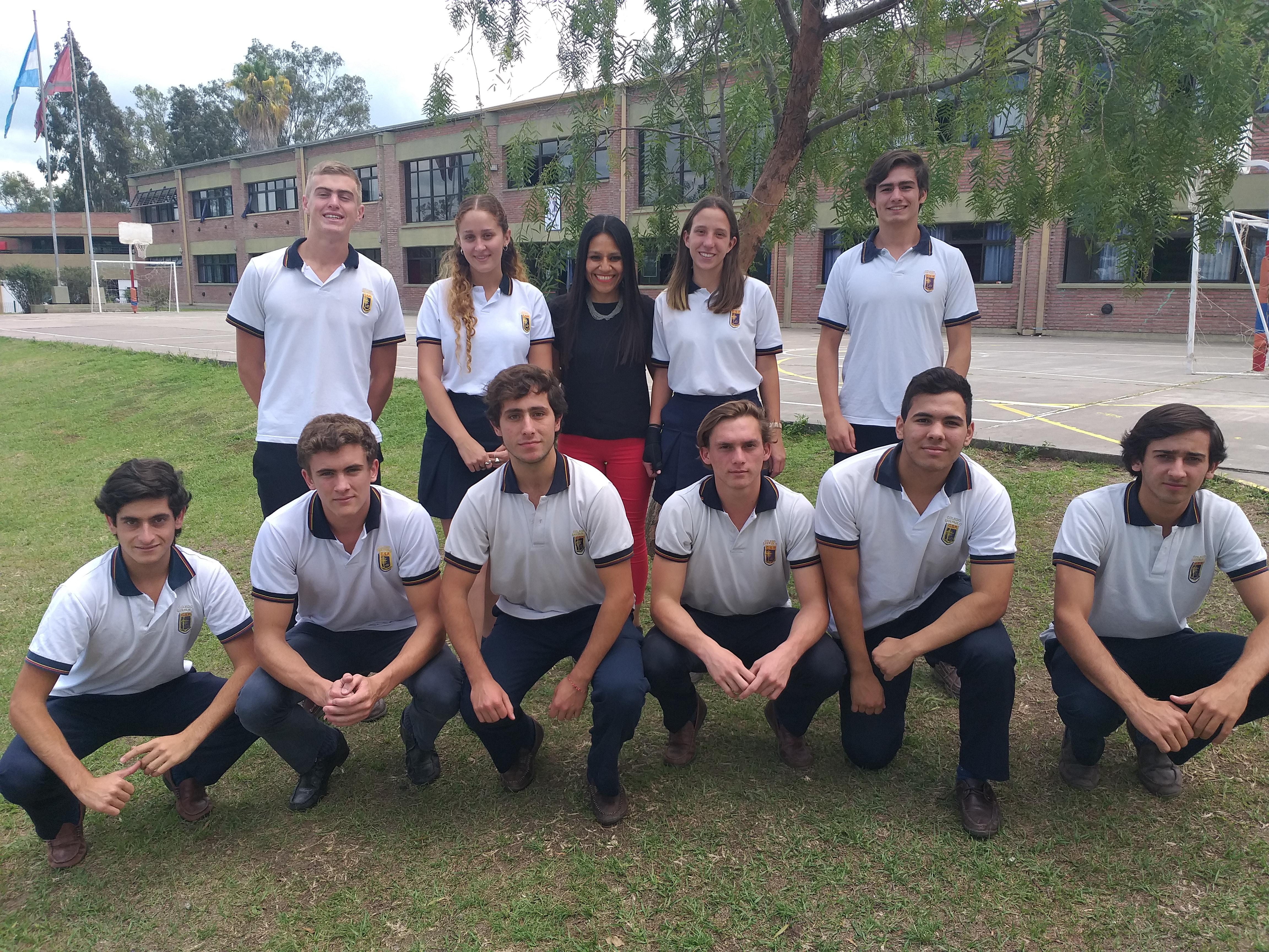 14 Alumnos de 5° año de Nivel Secundario que rindieron Trinity (Examen Internacional de la Universidad de Londres)
