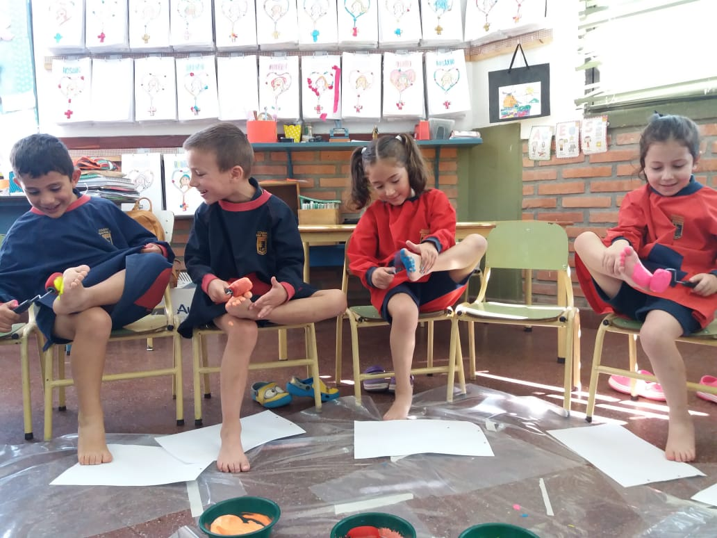 Pintando con los Pies (2)