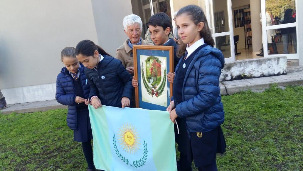 Presentación Himno, Escudo y Bandera del Municipio de San Lorenzo
