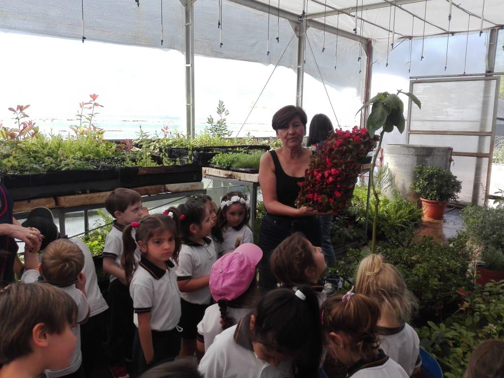 Visita al Vivero Cultivos Soria